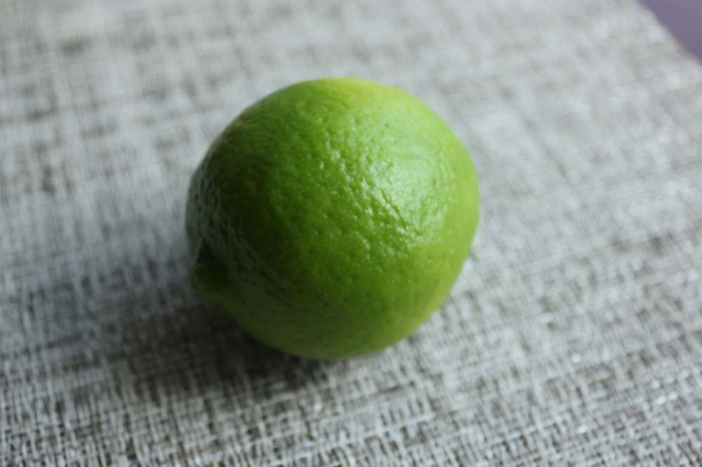 Simple lime making a world of difference for texture and flavor.