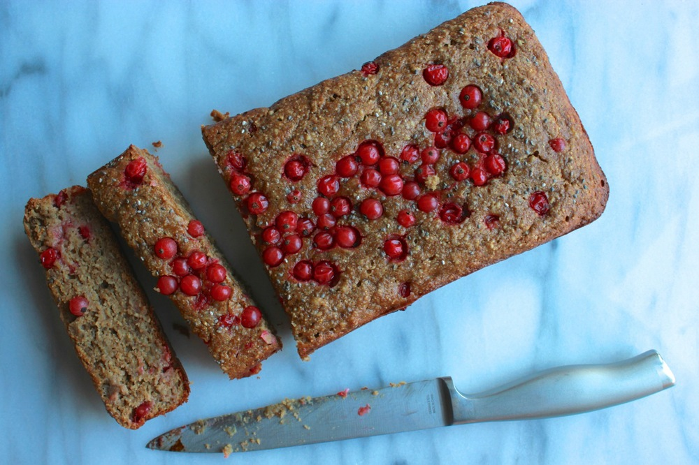 Currant Chia Almond Butter Banana Bread | Living Minnaly22.jpg
