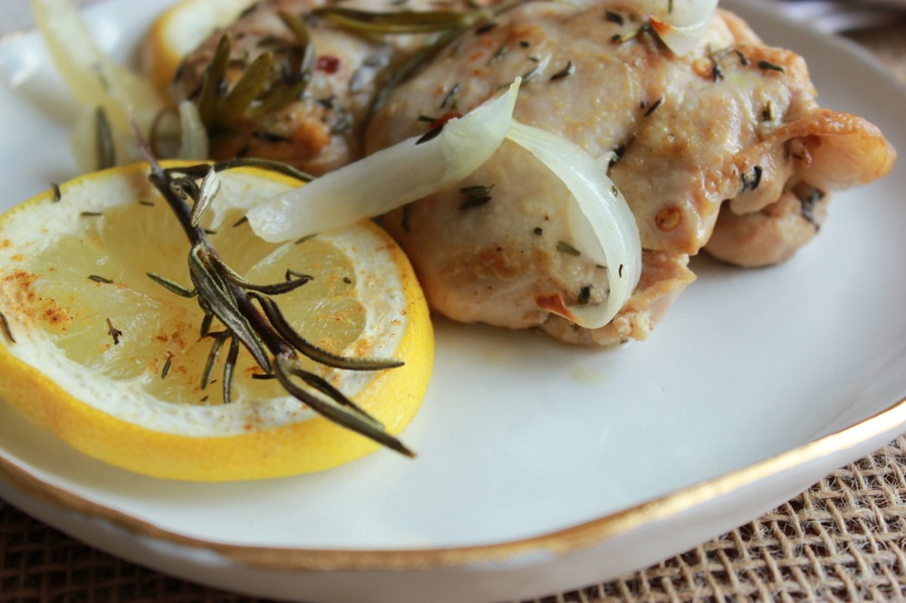 Lemon is a magic ingredient when it comes to chicken.
