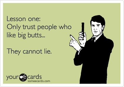 Cannot Lie