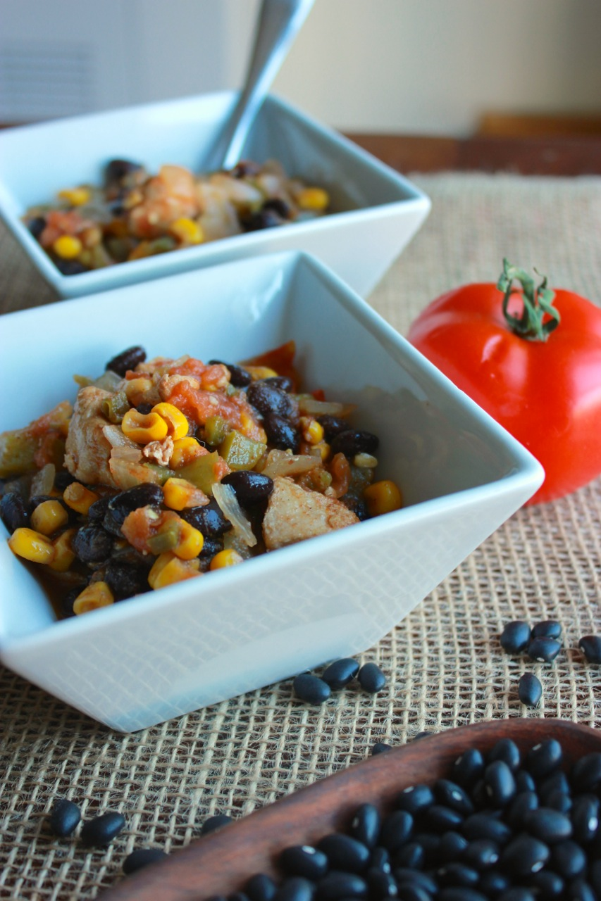 Chunky Chicken Chili | Living Minnaly5.jpg