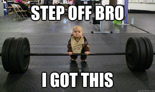 barbell baby