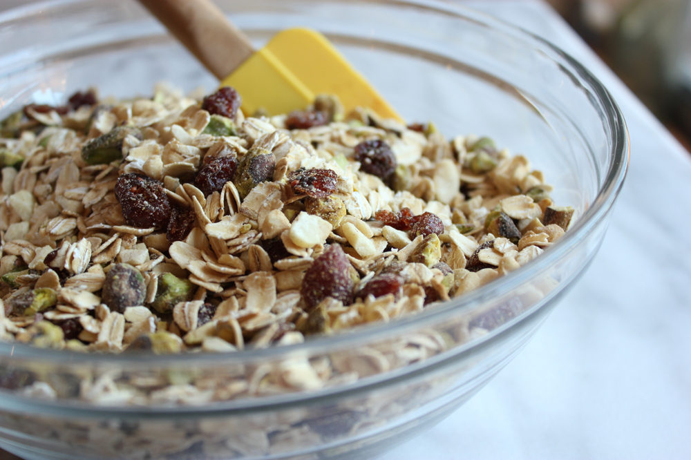 No-Bake Peanut Butter Pistachio Granola Bars | Living Minnaly07.jpg