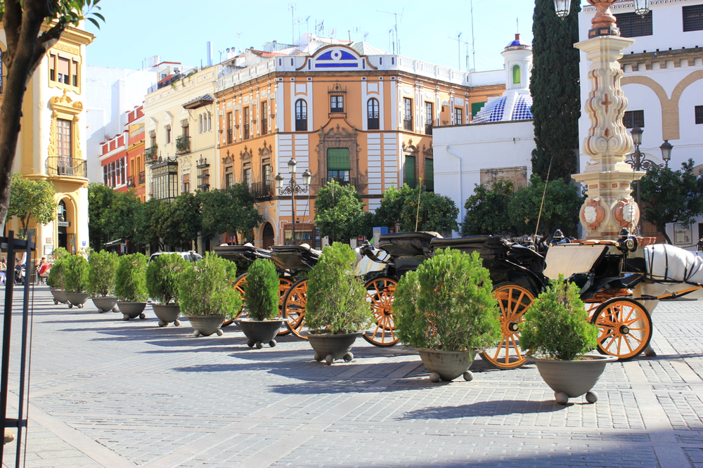 My favorite city in España, Sevilla.