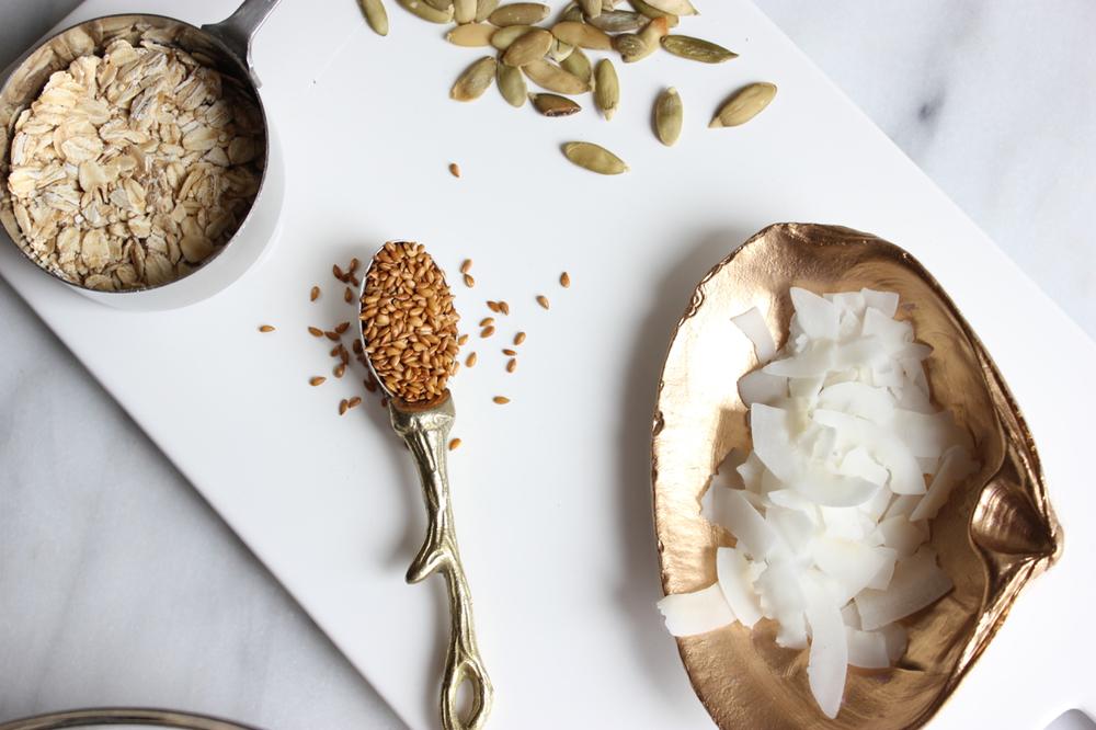 Chocolate Coconut Quinoa Granola | Living Minnaly02.jpg