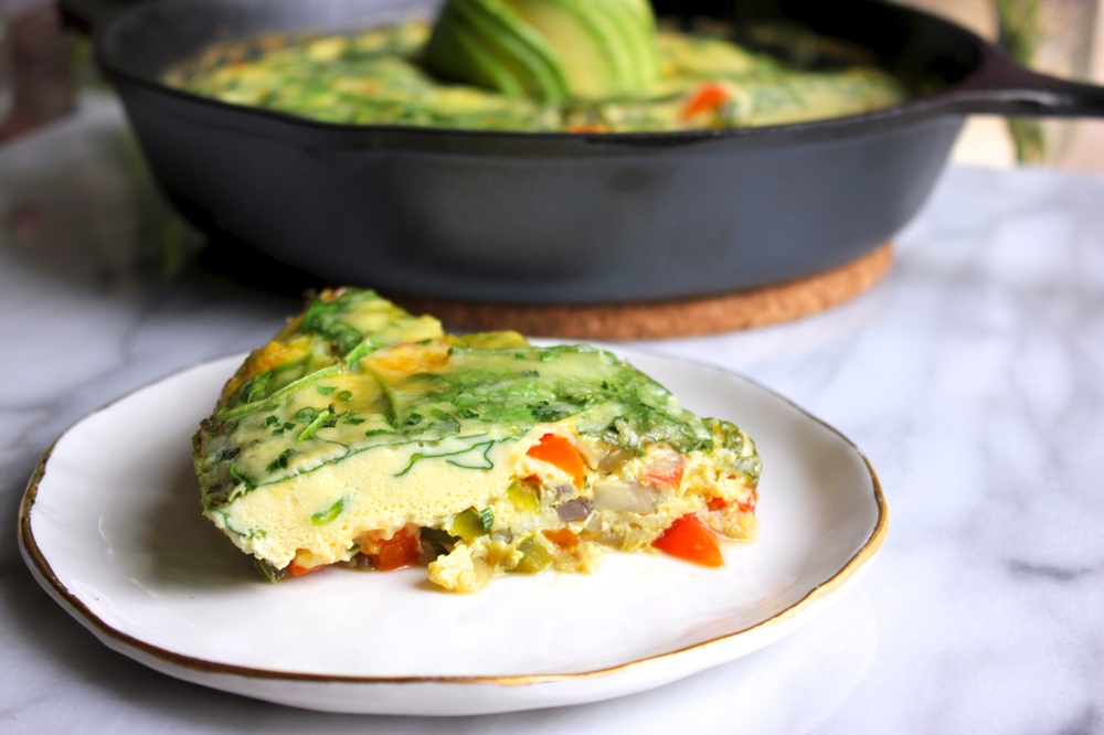 Power Greens Frittata | Living Minnaly08.jpg