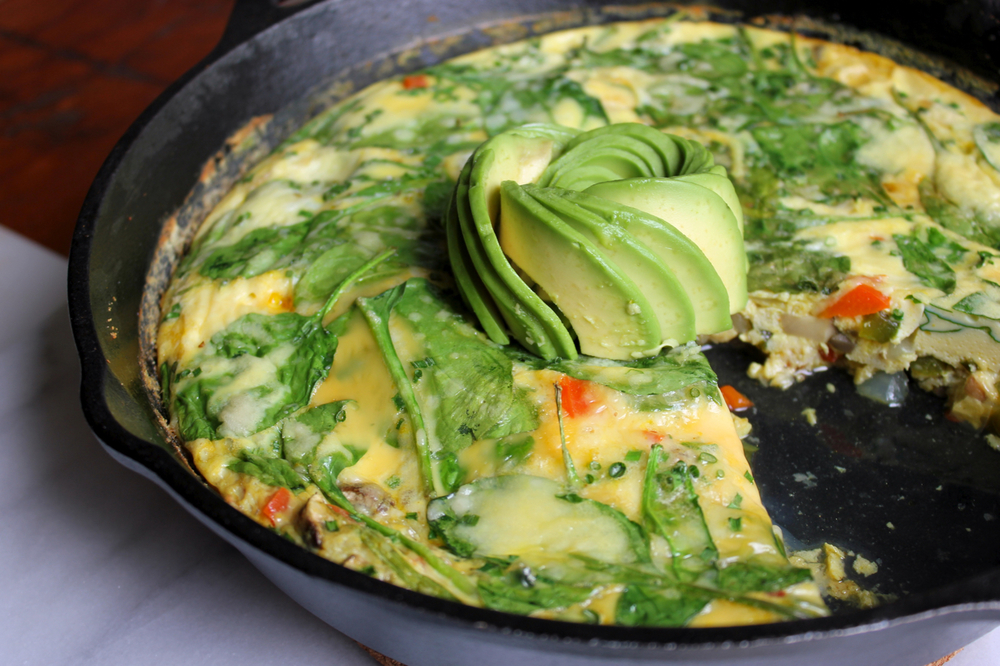 Power Greens Frittata | Living Minnaly10.jpg