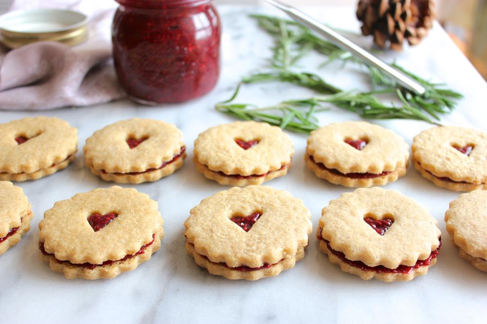 Gluten-free Cranberry Chia Jam Cookie Sandwich | Living Minnaly09.jpg