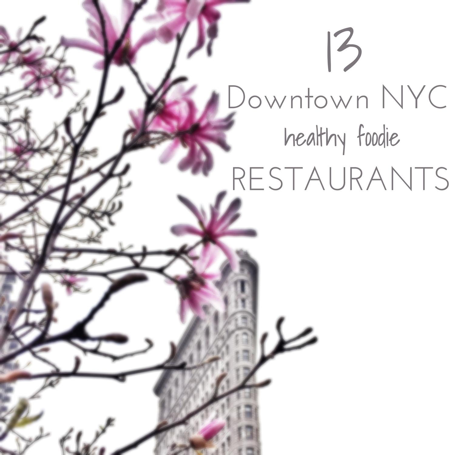 13 Downtown Nyc Healthy Foodie Restaurants Living Minnaly