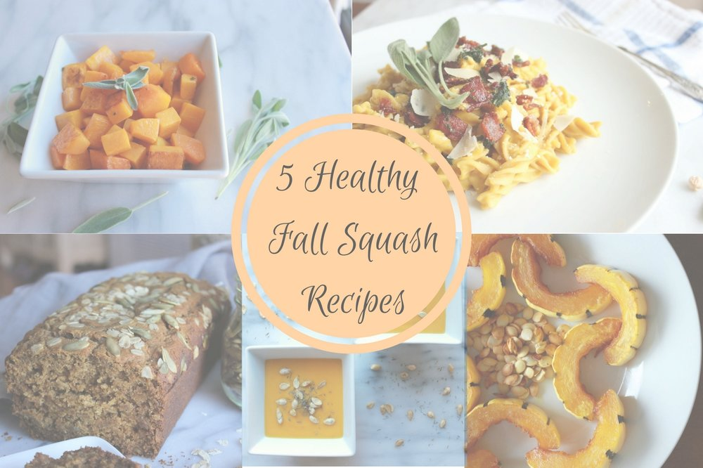 5 healthy fall squash recipes living minnaly 5 healthy fall squash recipes forumfinder Choice Image