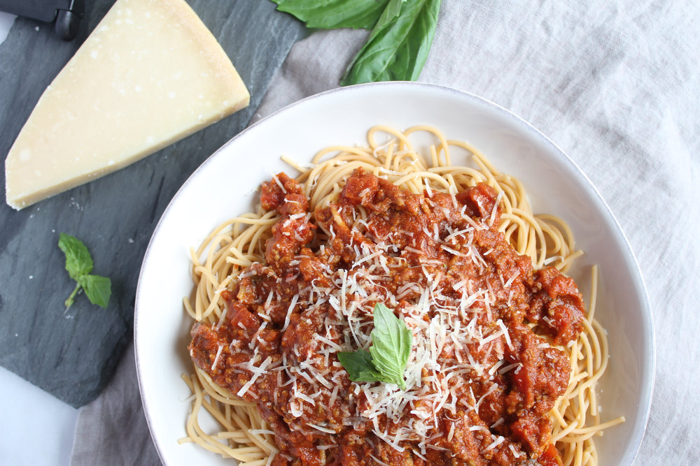 Gluten-Free Spaghetti Bolognese | Living Minnaly