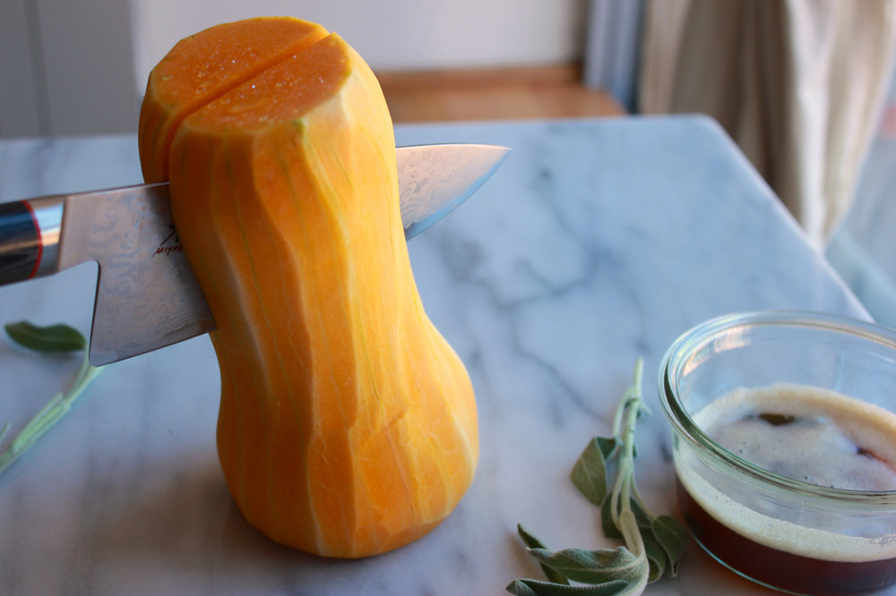 How to Peel and Cube Butternut Squash | Living Minnaly4.jpg
