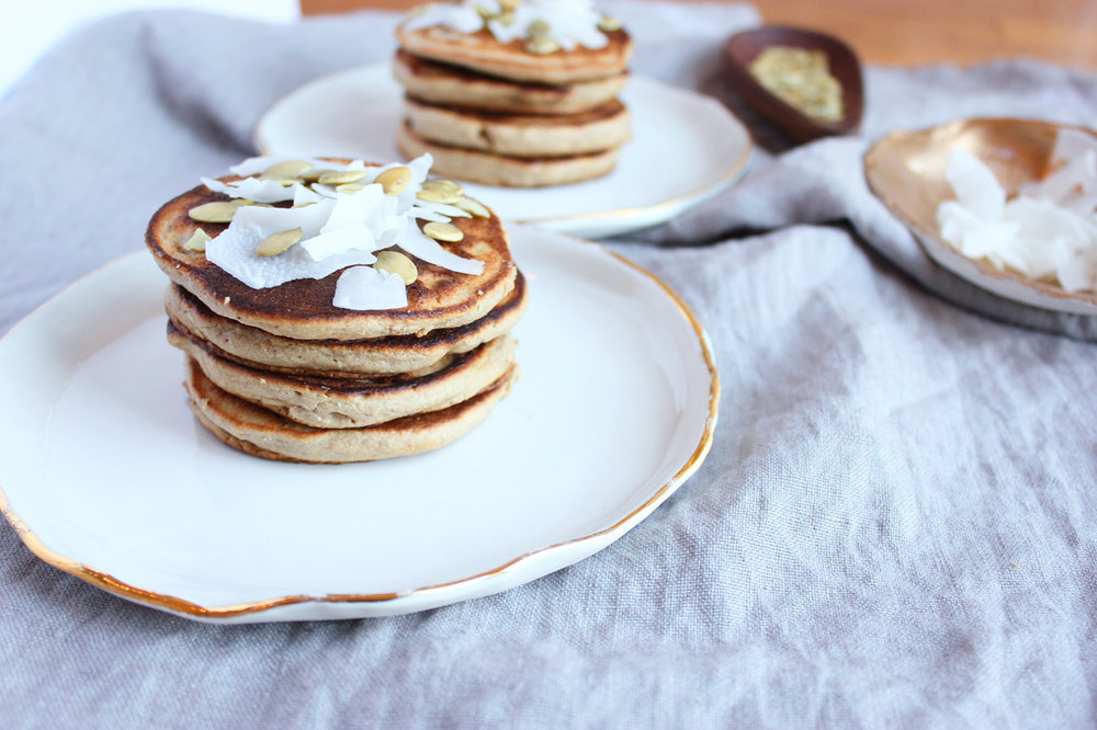 Gingerbread Pancakes — LIVING MINNALY