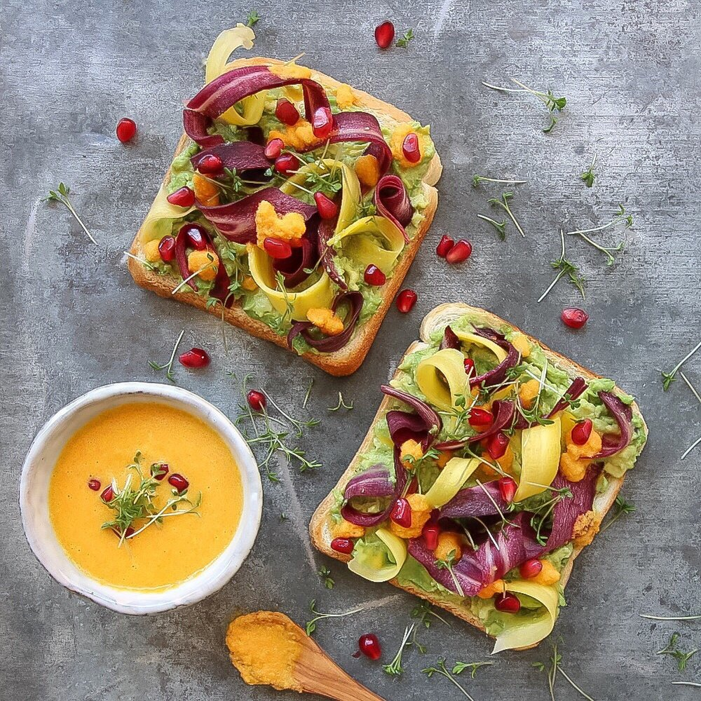 Women Who Inspire Interview Series- Paola Cravings in Amsterdam | avo carrot toast.jpg