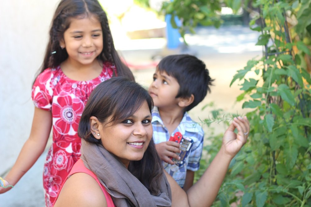 Amisha and Kids