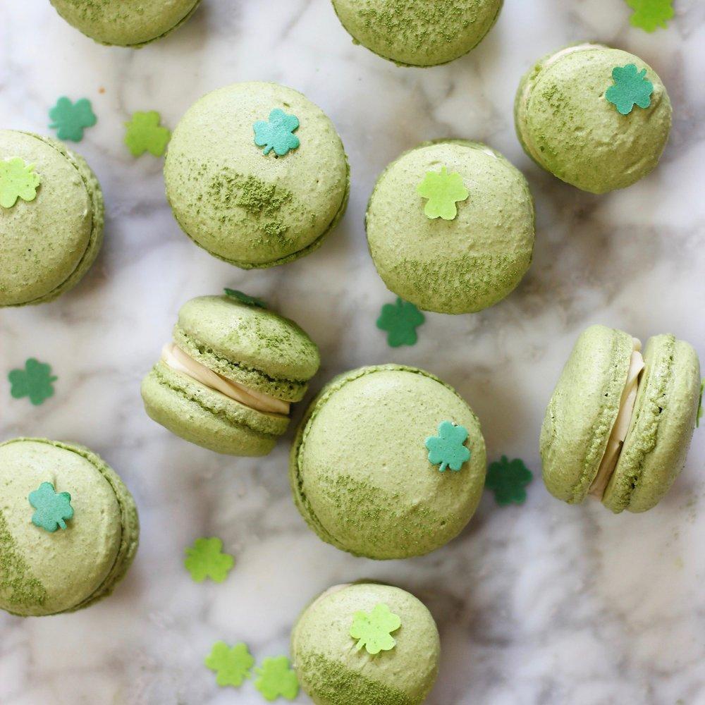 Matcha Macarons with Baileys Irish Cream Buttercream.jpg