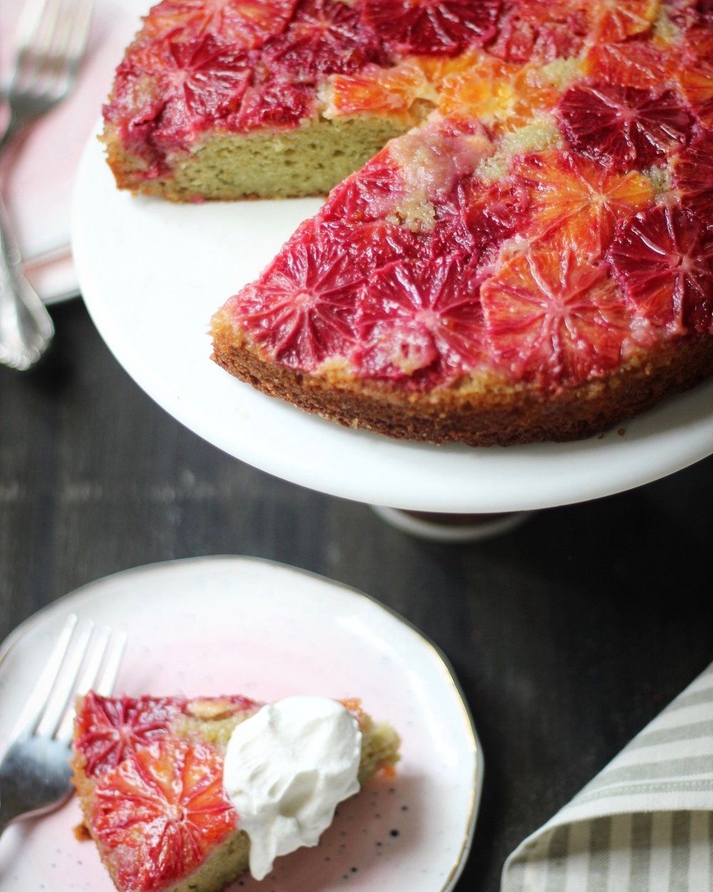 Upside Down Blood Orange and Rosemary Teacake.jpg