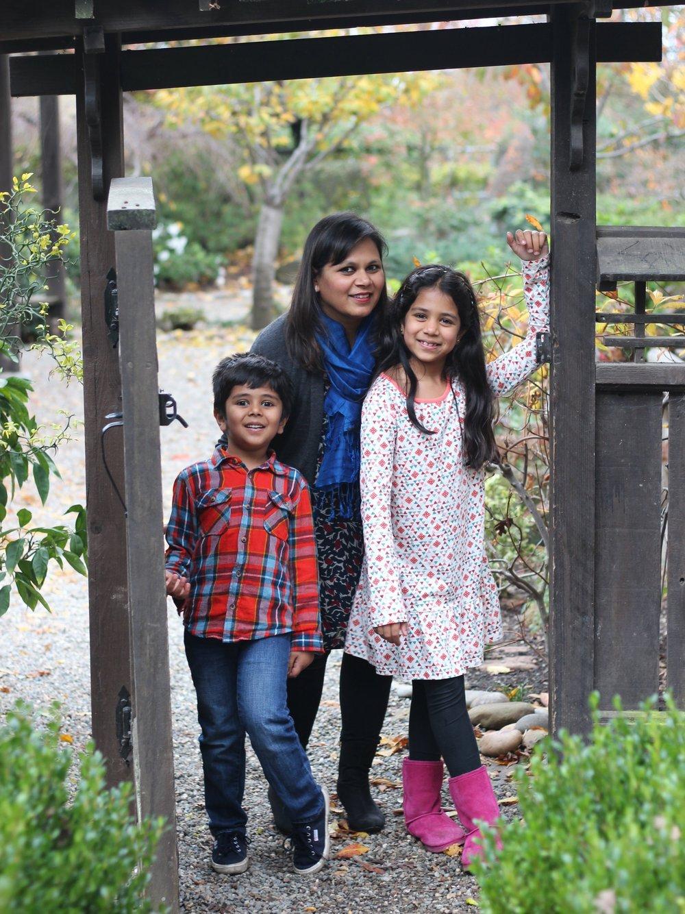 Amisha and Family