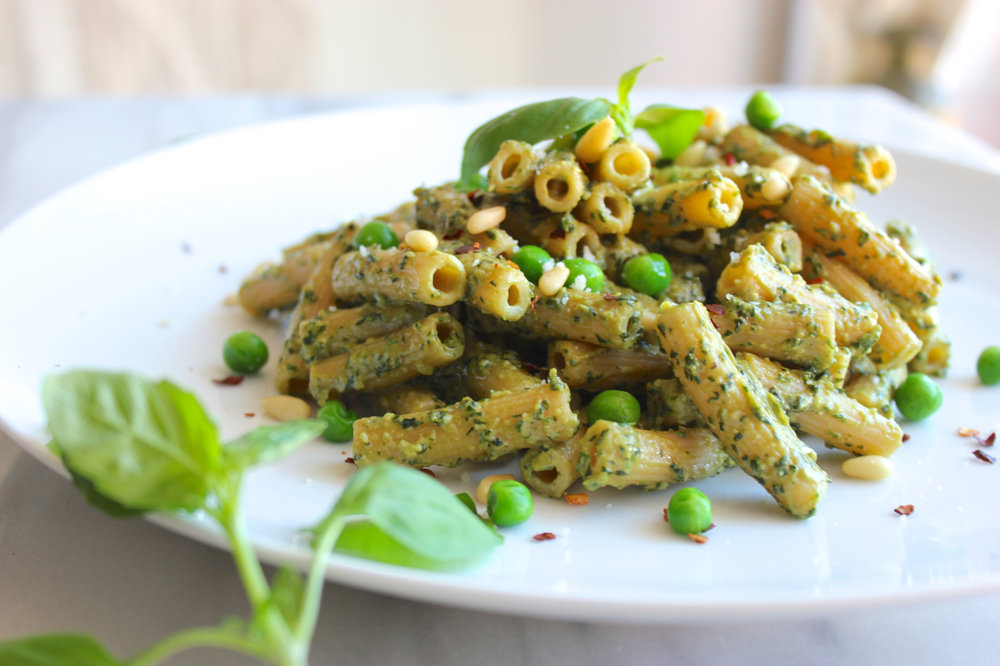 Spring Ramp and Pea Pesto