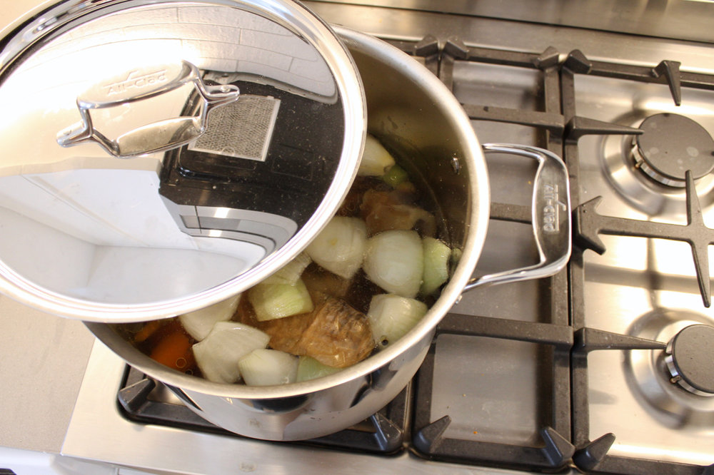 How to Make Bone Broth- Tutorial and Tips with All-Clad | Living Minnaly  - 6.jpg