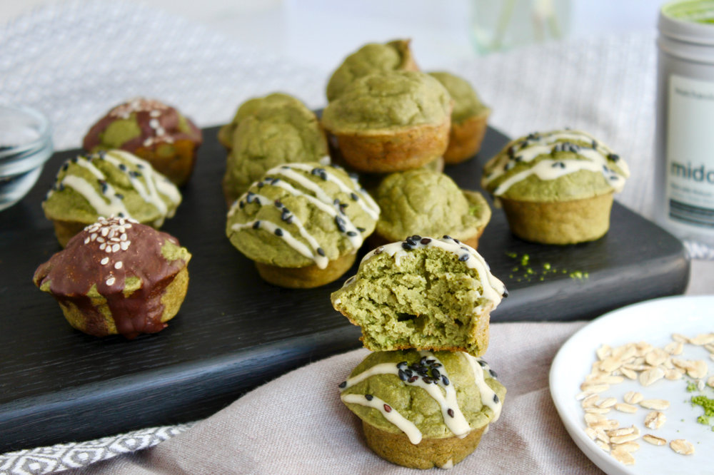 Matcha Mini Muffins with Collagen, Gluten-free Dairy Free | Living Minnaly  - 14.jpg