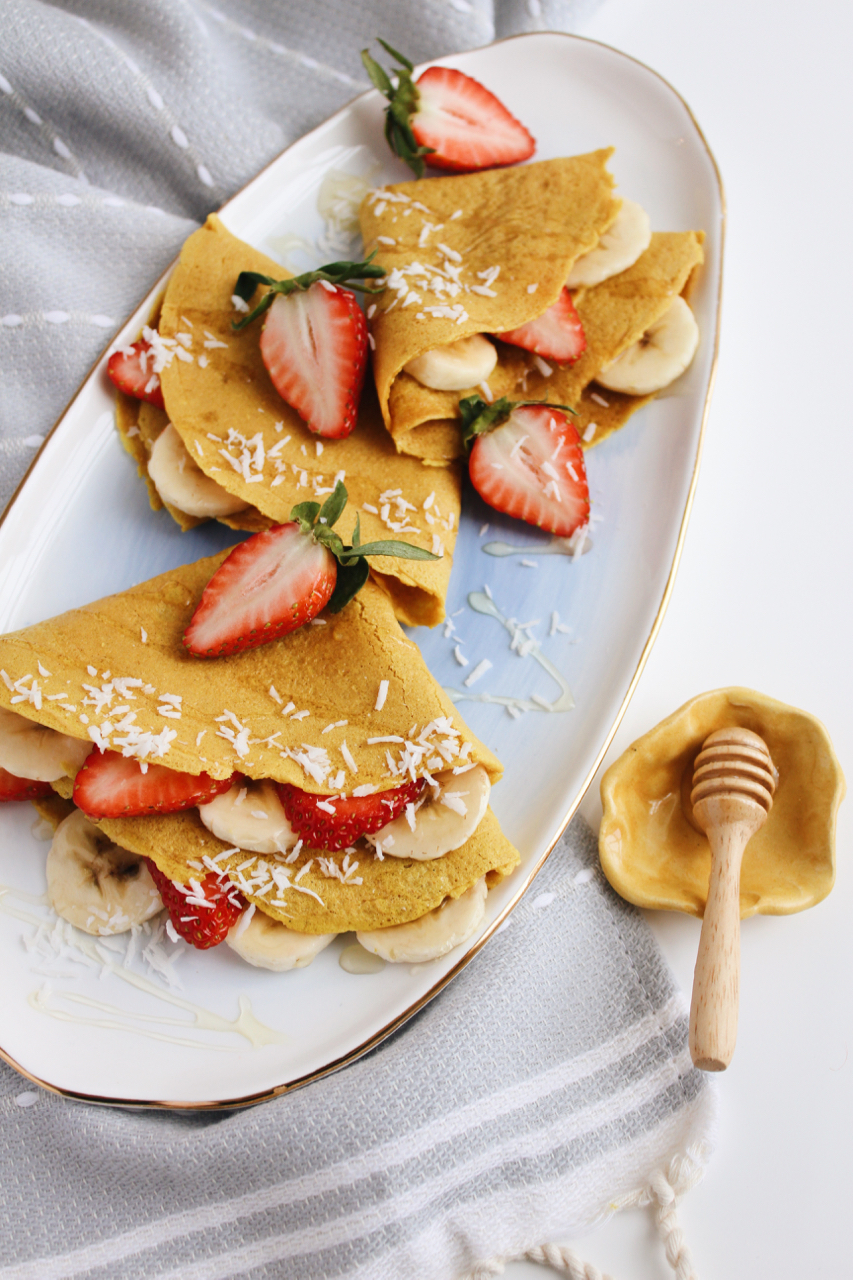 Golden Fuel Turmeric Collagen Crepes with Simple Mills + Live 24k | Living Minnaly  - 10.jpg
