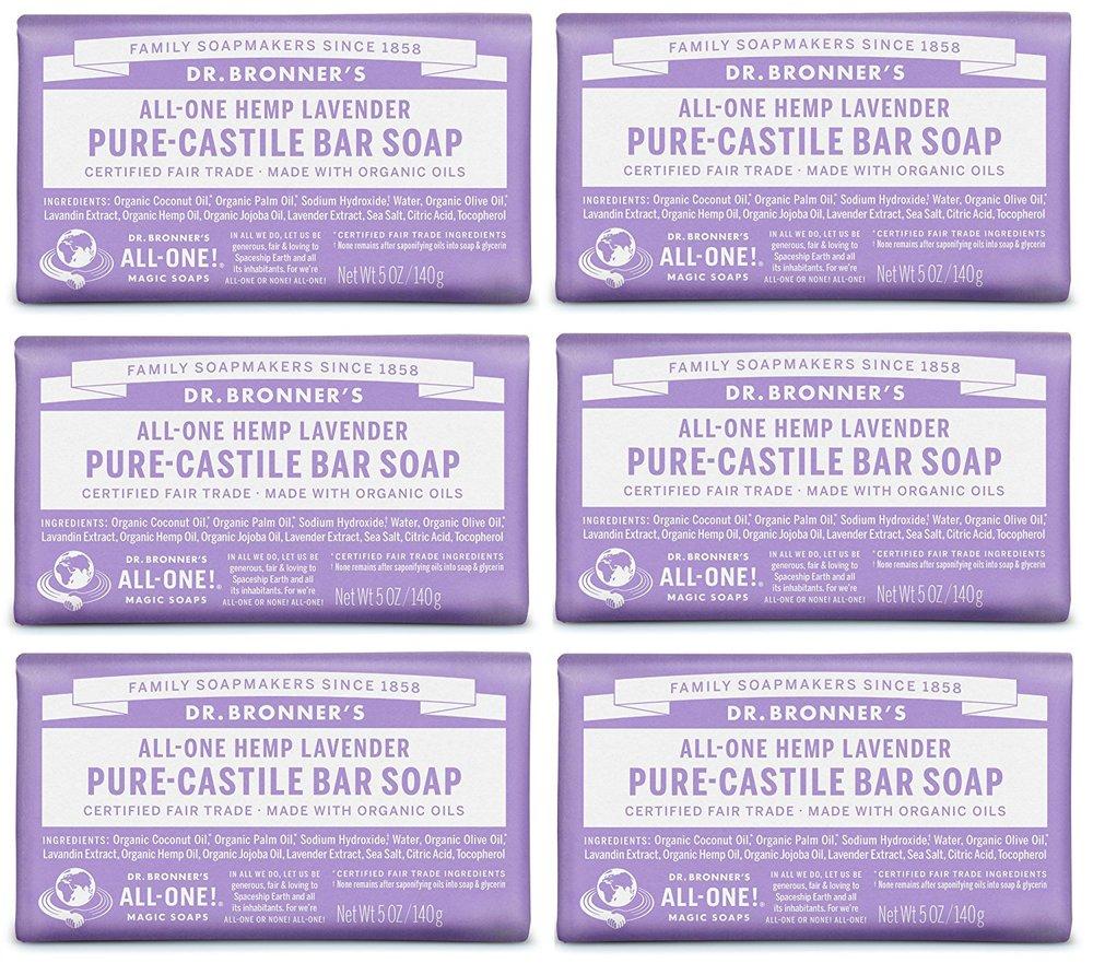 Dr. Bronner's Castille Soap in Lavendar