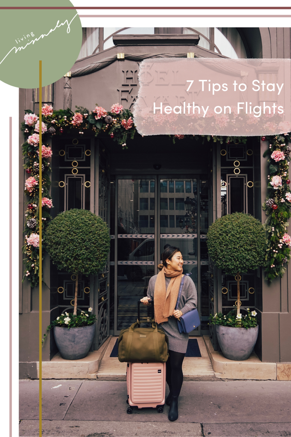 7 Tips to keep healthy on flights   Living Minnaly