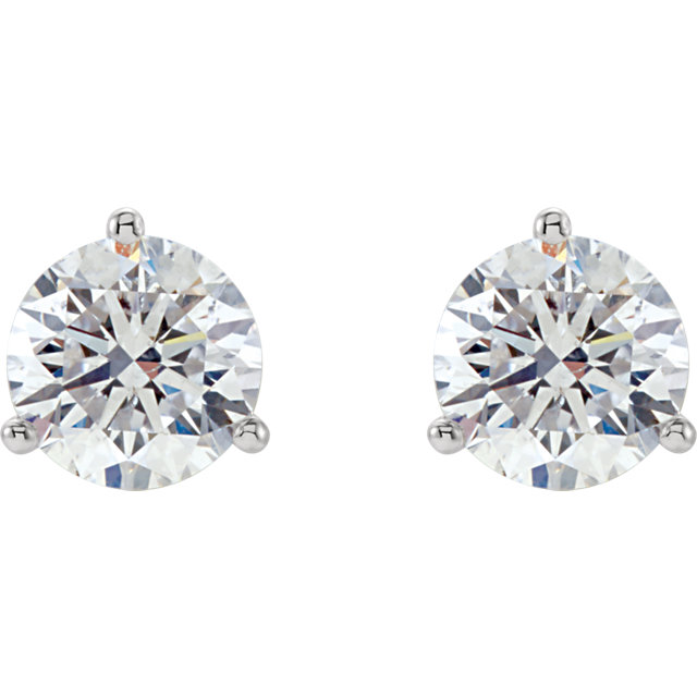 3 prong diamond earstuds half carat tw 2.jpg