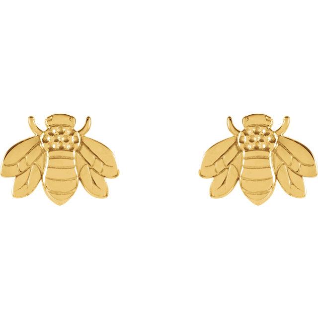 bumblebee earstuds