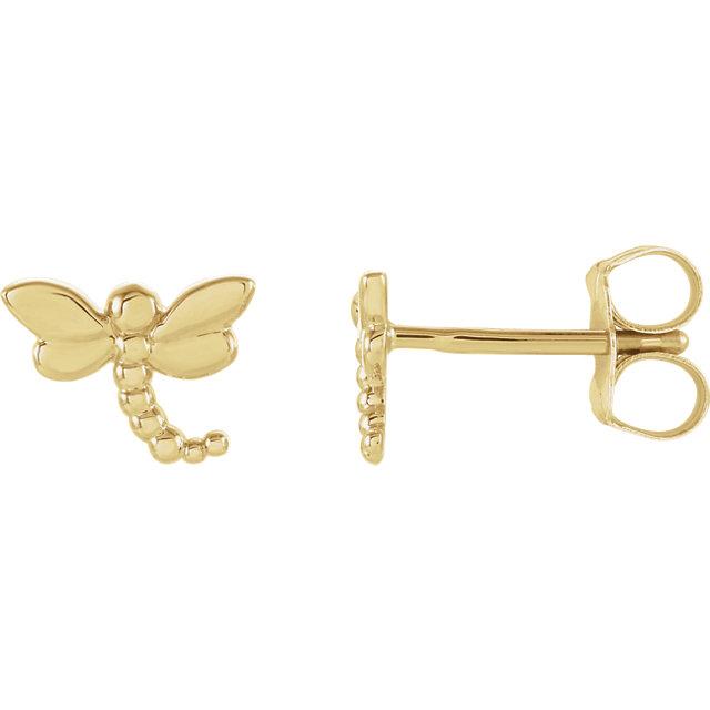 dragonfly earstuds