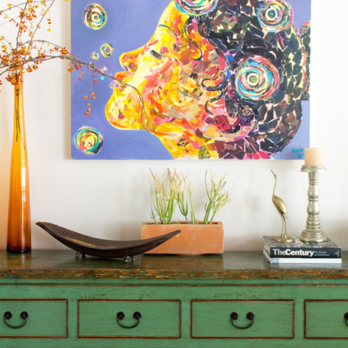 NICOLE'S ECLECTIC, WORLDLY HOME