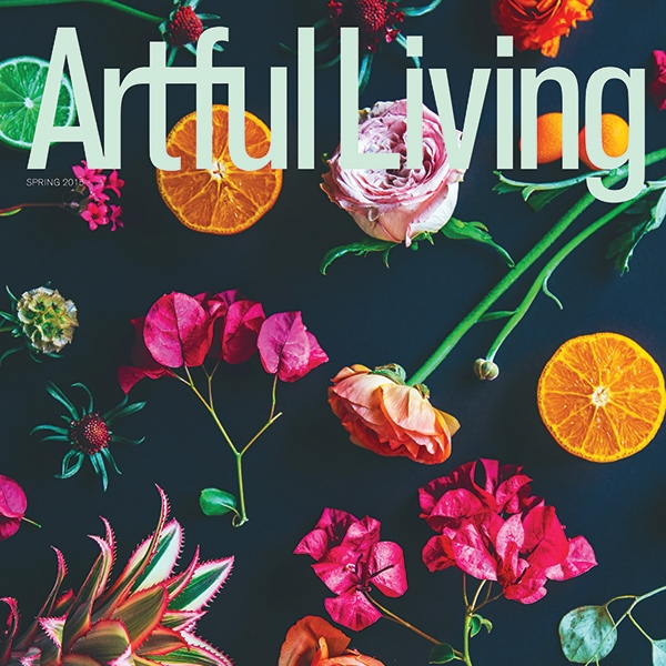 COVER DESIGN, ARTFUL LIVING
