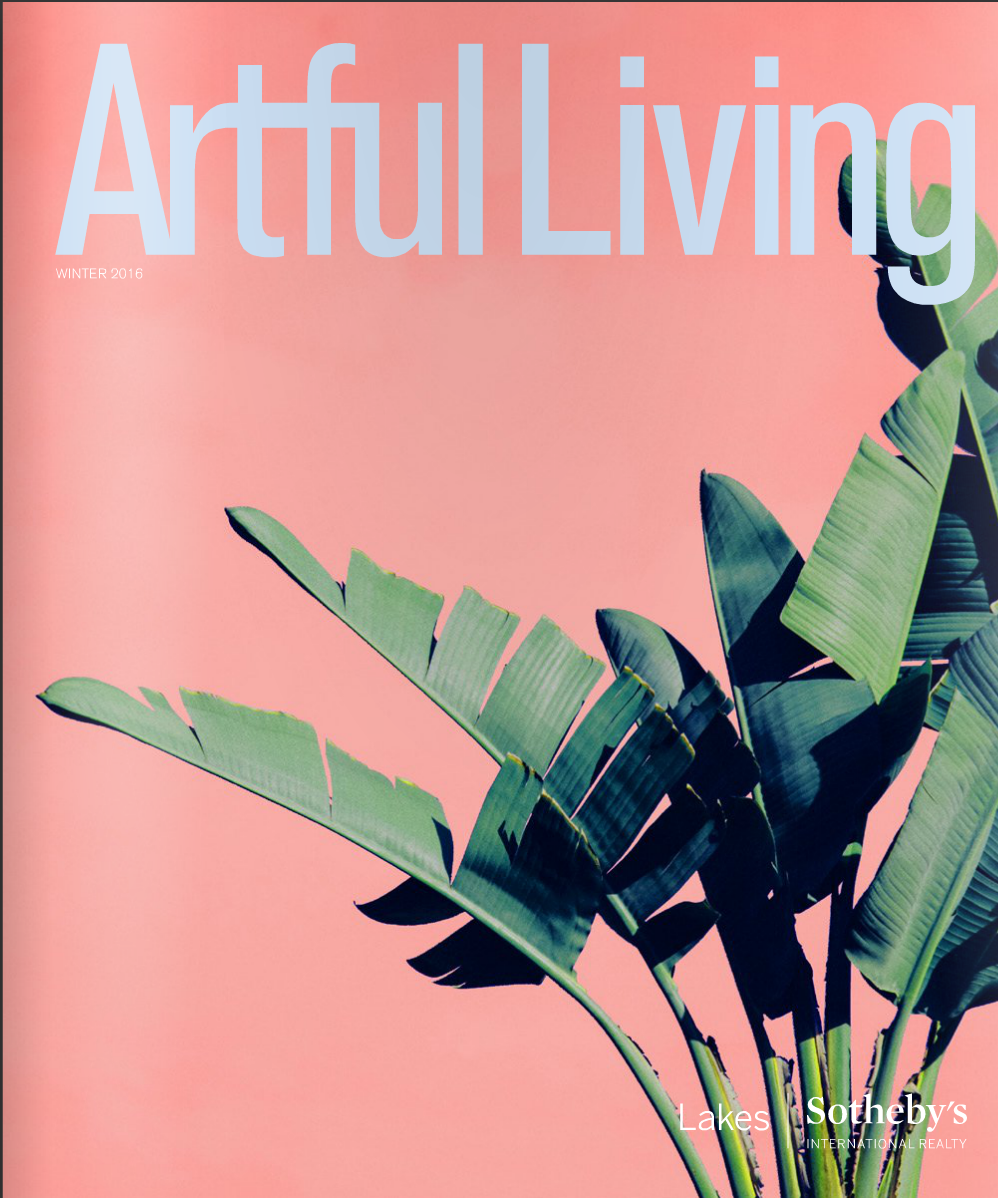 COVER ART, ARTFUL LIVING