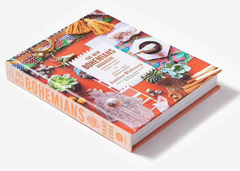 Our newest book,       The New Bohemians Handbook, Come Home to Good Vibes