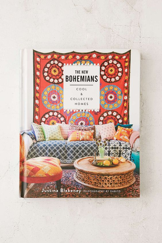 Our 1st interiors book,  The New Bohemians, Cool and Collected Homes.  New York Times Besteller.