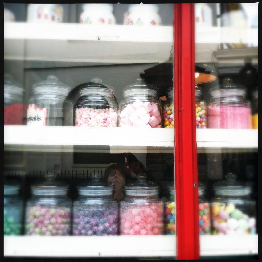 Bonbon display