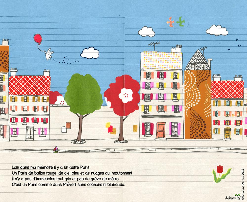 illustration /Paris