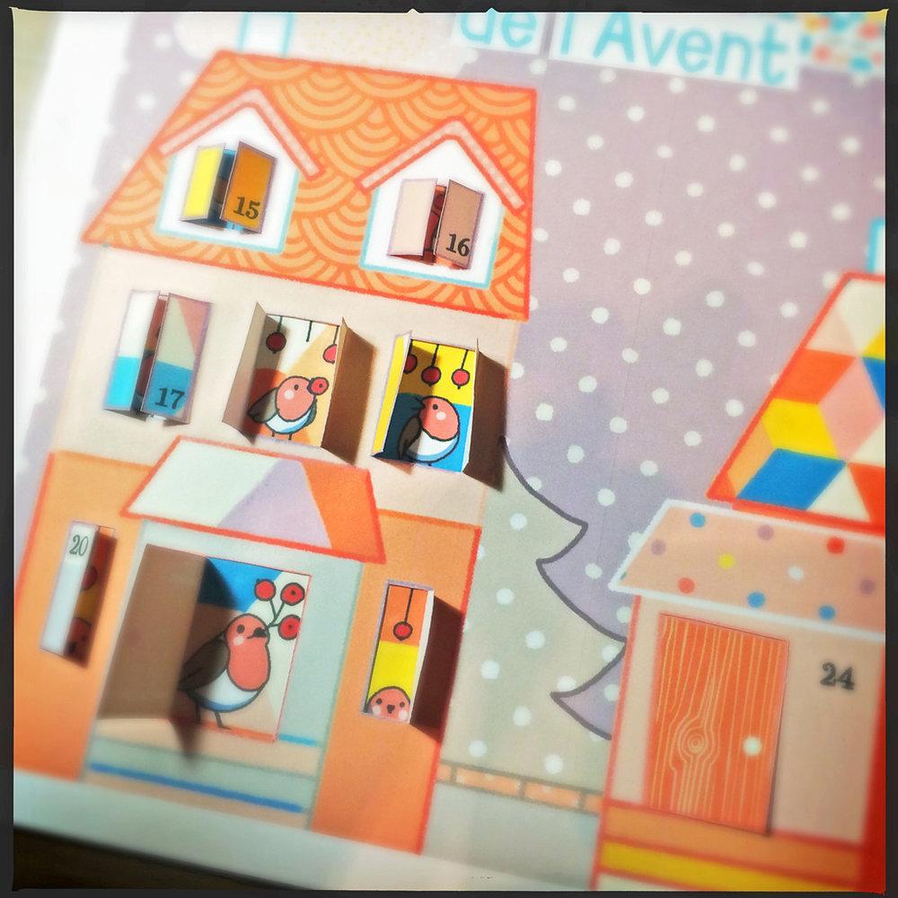 Colorful Advent Calendar 2014
