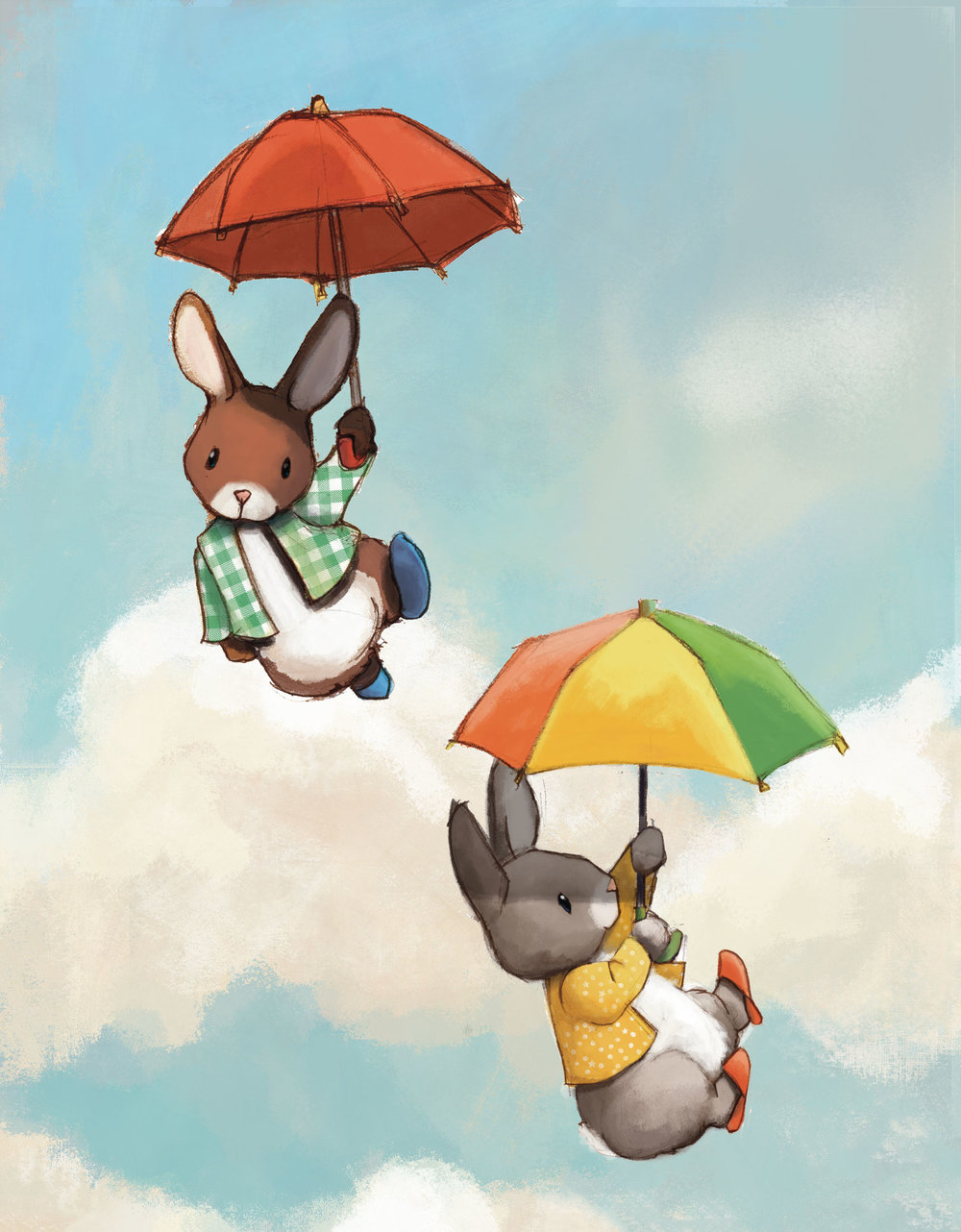 Flying bunnies
