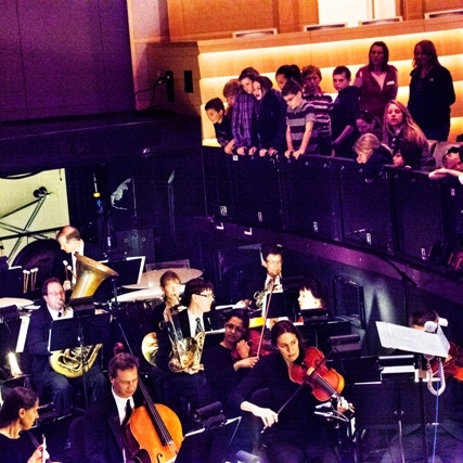 Pre-Performance Students and MSO.jpg