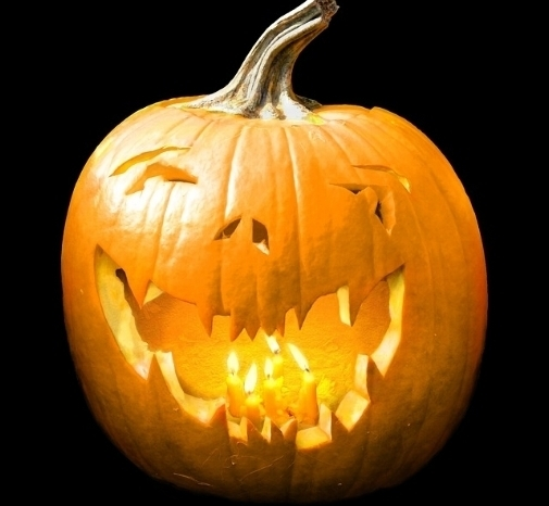 Though pumpkins are now used, turnips were the original carved vegetable.