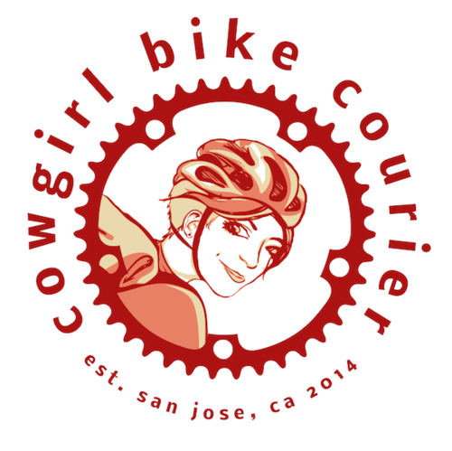 Cowgirl Bike Courier