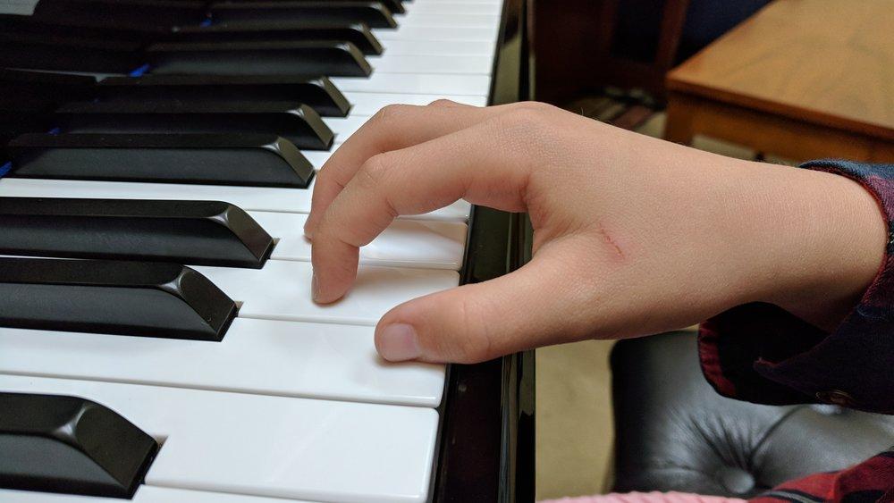 GOOD Hand Position