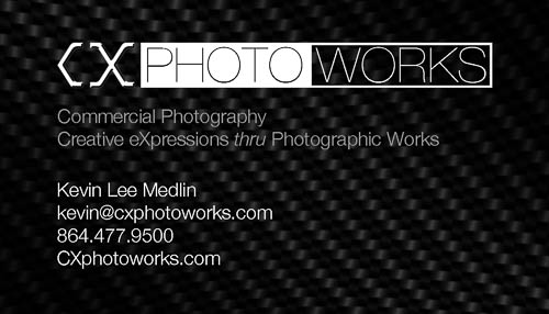 CXphotoworks Business Card (front)