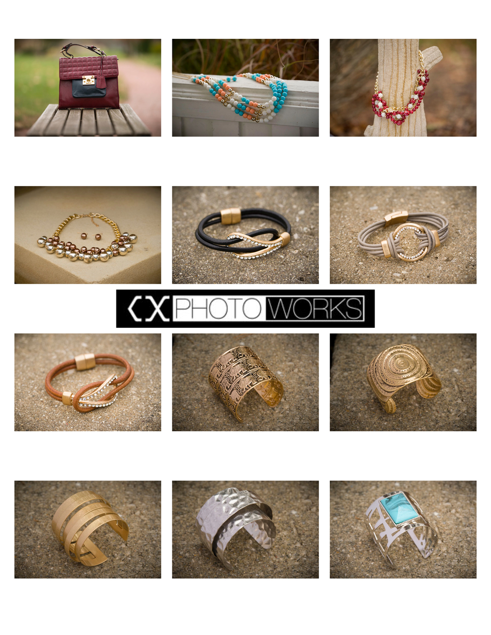 Fashion Accessories:  Jewelry & Handbags (Contact Sheet 2)