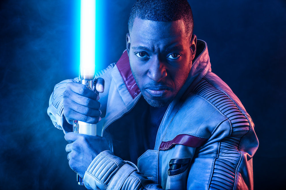 Star Wars - Finn with Lightsaber