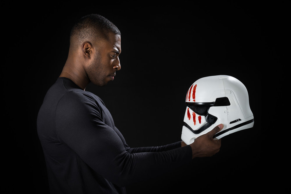 Star Wars - Finn with Stormtrooper Helmet
