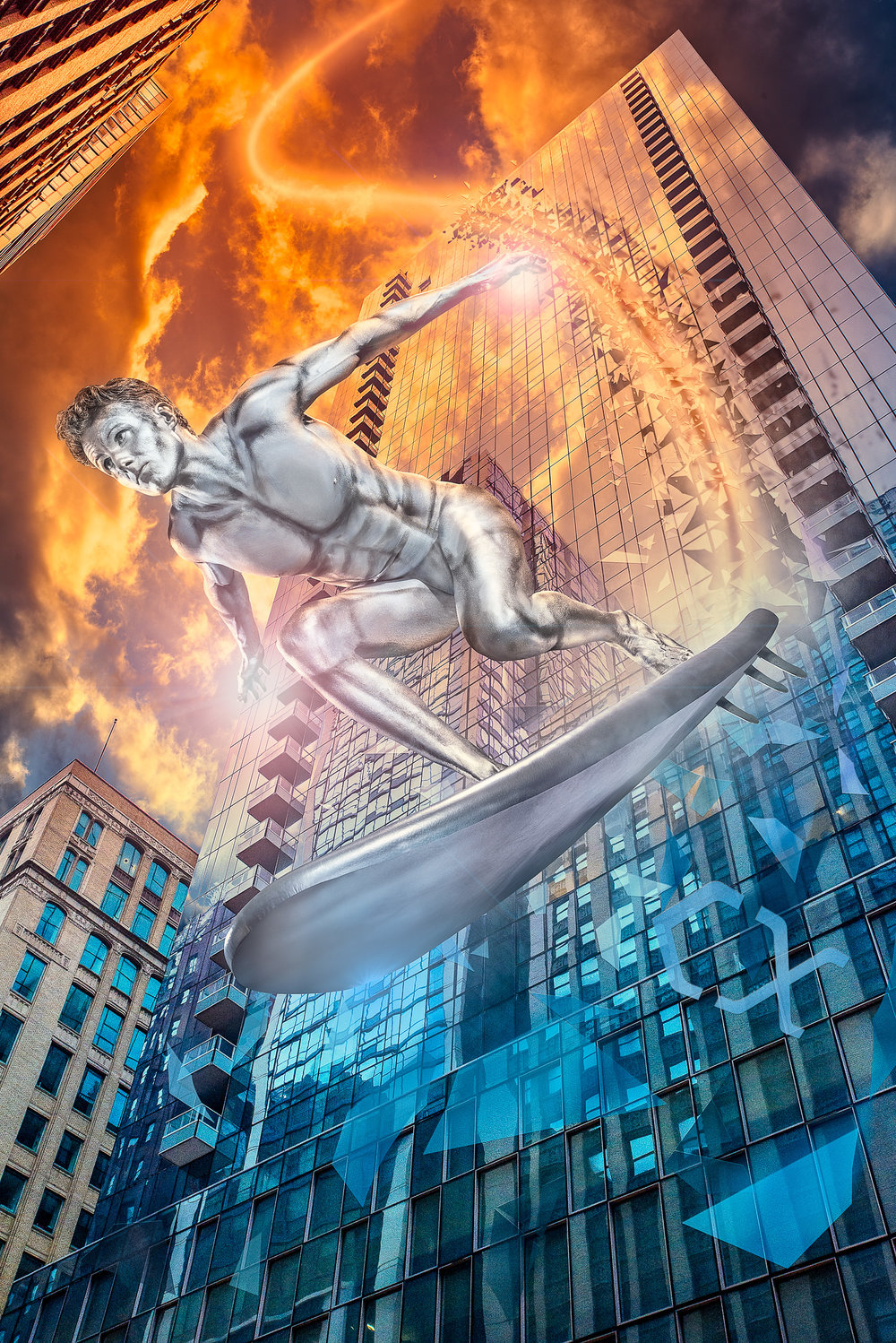 Silver Surfer Chicago II