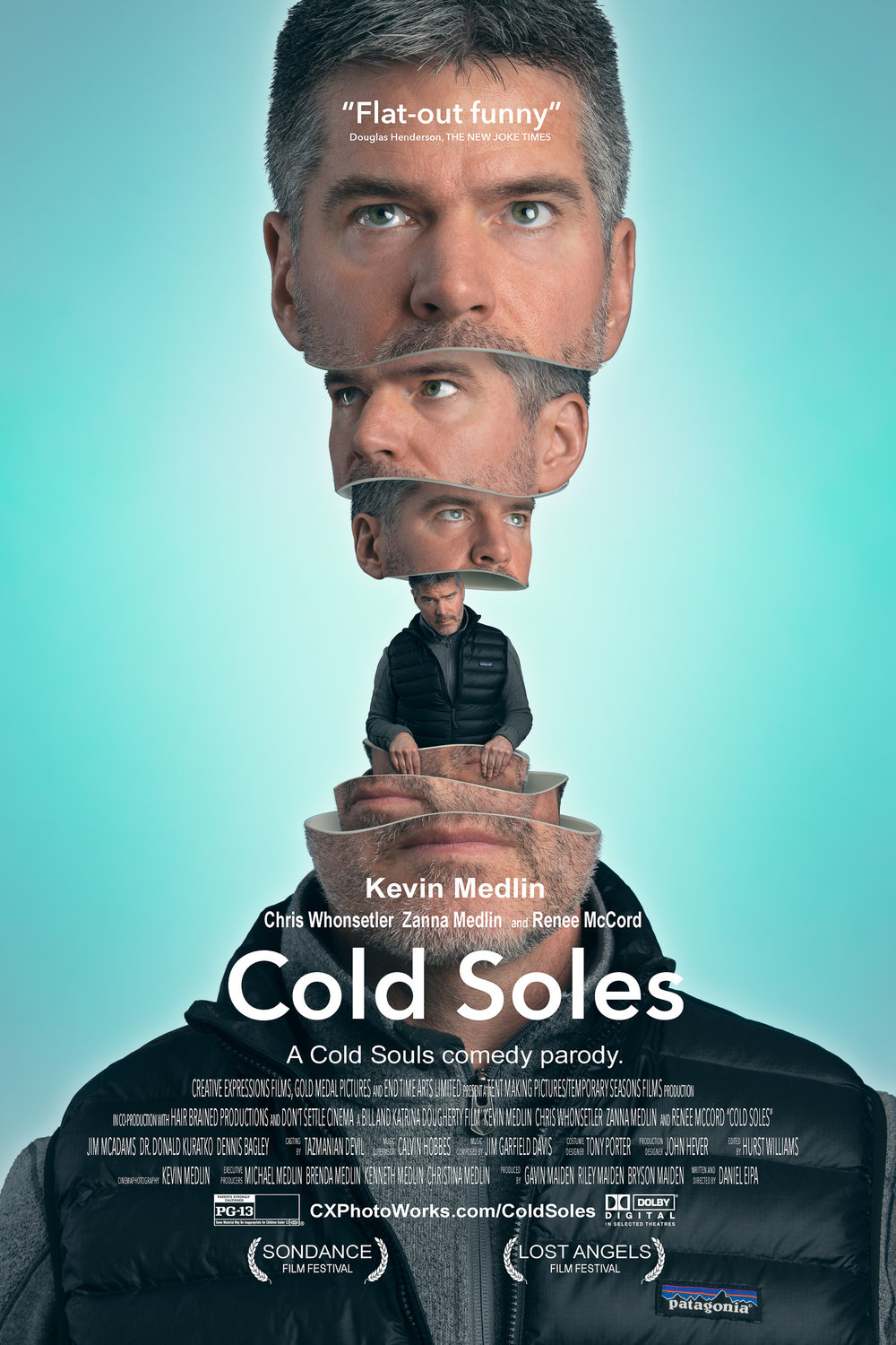 "Movie poster photography. A ""Cold Souls"" movie poster parody."